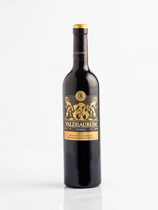 Botella de vino Valdearum