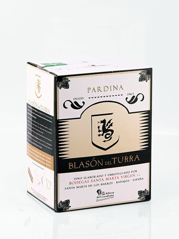 """Caja de vino Blasón del Turra """"Pardina"""""""