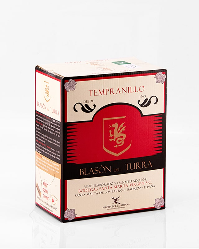 "Bag In Box ""Blasón del Turra Tempranillo"" 3L."