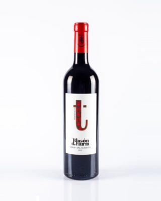 Botella de vino Blasón del Turra Tempranillo